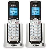 VTech DS6071 Expansion Handset For Cordless Telephone System 2-Line 1.9GHz DECT 6.0 (2-Pack)