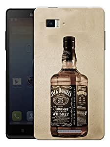 """Old Time Whiskey Printed Designer Mobile Back Cover For """"Lenovo Vibe P1"""" By Humor Gang (3D, Matte Finish, Premium Quality, Protective Snap On Slim Hard Phone Case, Multi Color)"""