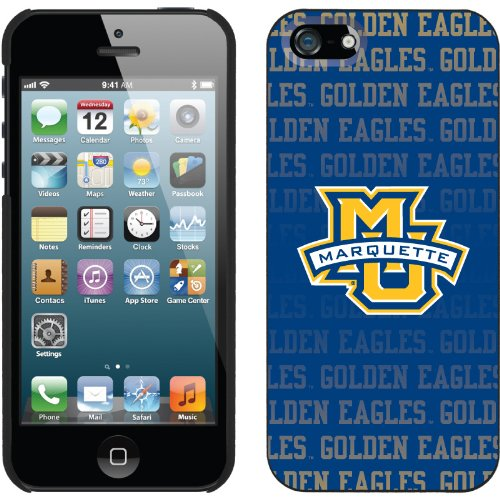 Great Price Marquette Repeating design on a Black iPhone 5s / 5 Thinshield Snap-On Case by Coveroo