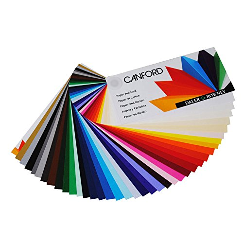 Daler-Rowney Canford Papier A1 25Blatt Frosted Silver