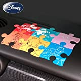 NAPOLEX Car Sedan Dash Mount Mickey Minnie Mouse Pooh Tiger Donald Daisy Duck Disney Character Puzzle non slip silicone Pad Mat All 6pieces