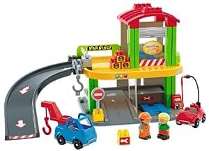 Ecoiffier - 3099 - Jeu de Construction - Garage Abrick
