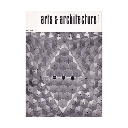 Arts and Architecture magazine, July 1957, Vol. 74, No. 7, Entenza, John (editor)