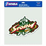 WNBA Seattle Storm 8-by-8 Inch Diecut Colored Decal