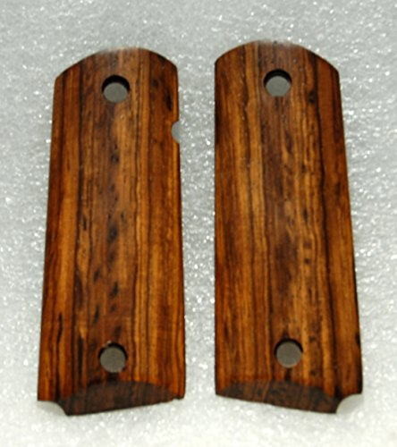 1911 Grips, Officer/Compact Size, Wood, Coco Bolo