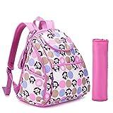 De viaje de bebé Bebamour bolsas de plástico para la de copa de vino con de pañales de en los cambios de la mochila de rosa rosa