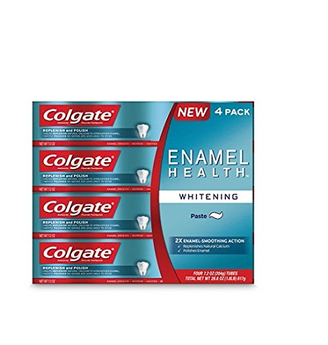 Colgate Enamel Health Whitening Toothpaste 7.2 oz (Pack of 4) colgate