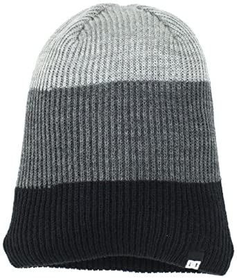 DC - Young Mens Clap Hat, O/S, Black / Heather Grey