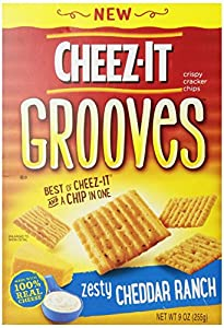Cheez It Grooves Zesty Cheddar Ranch, 9 Ounce