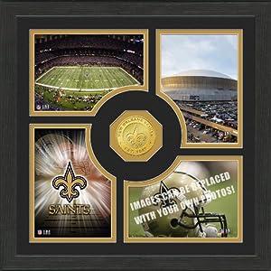 NFL New Orleans Saints Fan Memories Photo Mint by Highland Mint