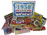 66th Birthday Gift Box 1950 Retro Nostalgic Candy