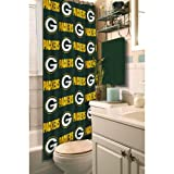 Green Bay Packers Fabric Shower Curtain at Amazon.com