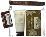 Upper Canada Naturally Signature Collection Lotion and Soap Travel Set, Golden Maple Sugar