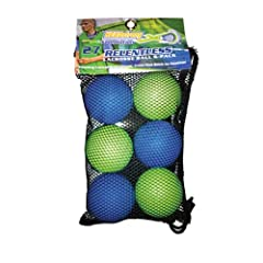 HEADstrong Foundation Relentless Lime Green Blue Lacrosse Balls 6 Pack [Misc.] by HEADstrong