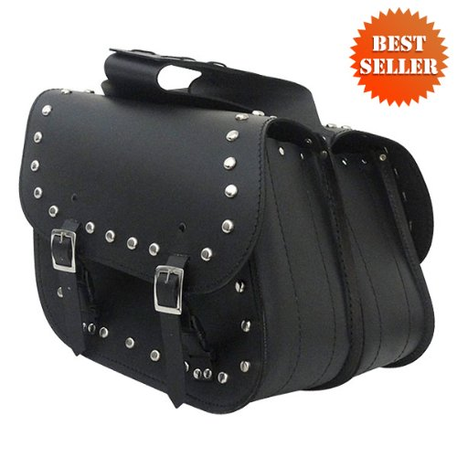 Leather Saddlebags - Motorcycle Leather Saddlebags