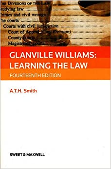 glanville williams Title: glanville williams learning the law item condition: used item in a very good condition author: glanville l williams,ath smith isbn 10: 0421925507.