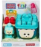 Mega Bloks First Builders Build-n-Rock Hedgehog Toy