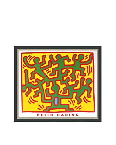 "Keith Haring ""Untitled (From The Series ""Growing"")"" (Printed In 1988) Framed Poster"