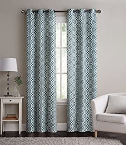 2 Pack Alexander Energy Saving Hotel Quality Grommet Blackout Curtains Assorted