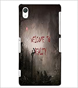 PrintDhaba Quote D-3188 Back Case Cover for SONY XPERIA Z2 (Multi-Coloured)