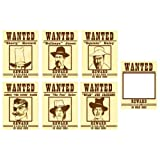 Rodeo Cowboy Wanted Posters (6)