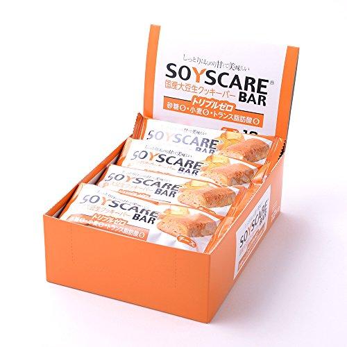【糖質制限ダイエットにピッタリ】 ソイズケアバー 【チーズ味 12本入】 砂糖ゼロ・小麦粉ゼロ・トランス脂肪酸ゼロのトリプルゼロ