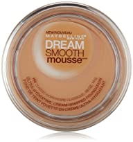 Maybelline New York Dream Smooth Mousse Foundation, Classic Ivory, 0.49 Ounce
