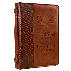 Jeremiah 29:11 Two-tone Bible / Book Cover - Forro para Biblia (Large
