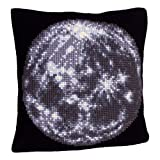 Collection dArt 40 x 40 cm Moon Cross Stitch Cushion Kit