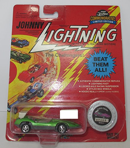 Johnny Lightning the Challengers custom spoiler Series 4 Green