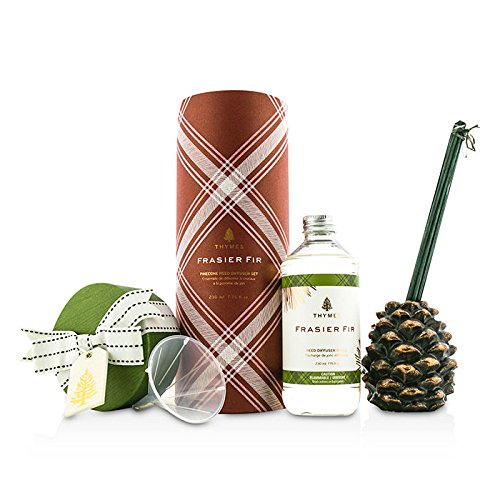 Thymes Pinecone Reed Diffuser Set - Frasier Fir 230ml/7.75oz