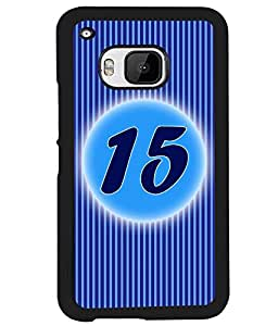 Printvisa 2D Printed Numerology Designer back case cover for HTC One M9 - D4233