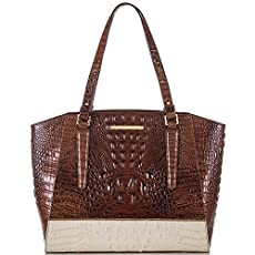 Paris Business Tote<br>Pecan Gemini