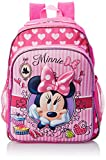 Fast Forward Little Girls' Minnie Mouse 3D Eva Molded Backpack, Hot Pink/Light Pink, 16x12x5