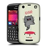 Head Case Jump Wilbur The Cat Design Back Case Cover For Blackberry Curve 9360