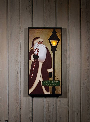 "Ohio Wholesale Christmas Keeper Lighted Canvas 20"" X 10"""