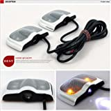 Car Door Light Ghost Shadow Laser Slide Projector Fit For Suzuki Swift SX4 Alto Jimny GrandVitara 2 PC