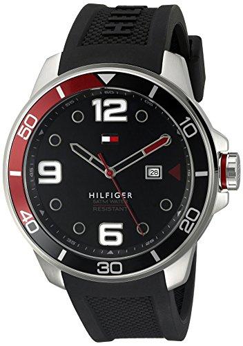 Tommy-Hilfiger-Mens-1791153-Analog-Display-Quartz-Black-Watch