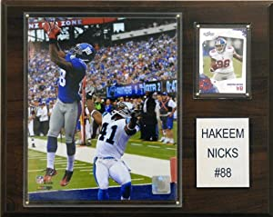 NFL Hakeem Nicks New York Giants Player Plaque by C&I Collectables