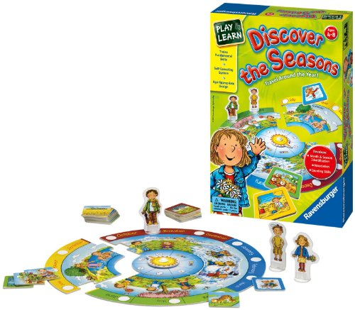 Discover The Seasons Children's Game