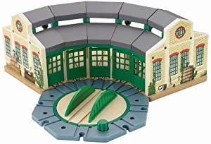 Thomas Wooden Railway - Tidmouth Sheds from Fisher-Price