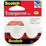 Scotch Transparent Tape, 3/4 x 300 Inches (157S)