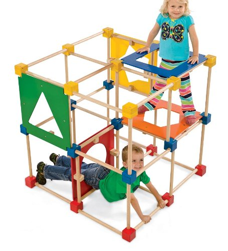 toddlers indoor and outdoor climbing structures