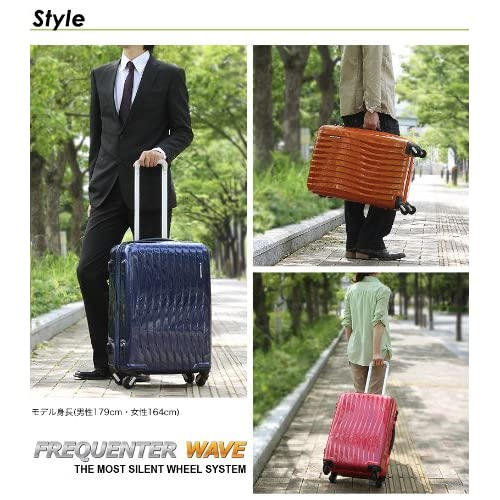 FREQUENTER WAVE スーツケース 56L 1-621-PINK