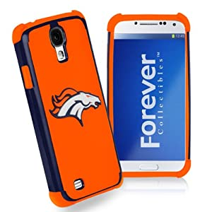 Forever Collectibles Denver Broncos Rugged Dual Hybrid Samsung Galaxy S4 Case