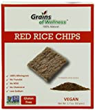 Grains of Wellness Rice Chips, Red, 1.7 Ounce (Pack of 12)