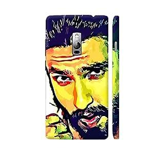 Colorpur Ranveer Singh Artwork On OnePlus 2 Cover (Designer Mobile Back Case) | Artist: Divakar Vikramjeet Singh