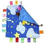 (エイチケーエイチ) HKH 初めてのおもちゃに 布 おもちゃ ベビー&キッズ 音が鳴る 仕掛け 知育 遊具 玩具 (夜空)