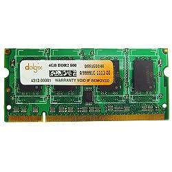 4GB DDR2 800MHz Dolgix Laptop Ram
