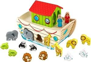 Kidkraft Noah's Ark Shape Sorter 63244 Learning Puzzle